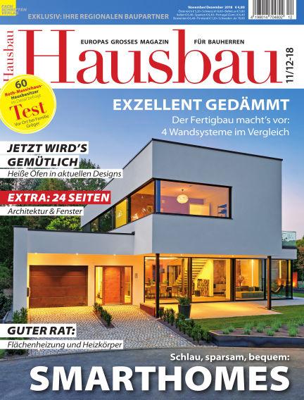 Hausbau October 13, 2018 00:00