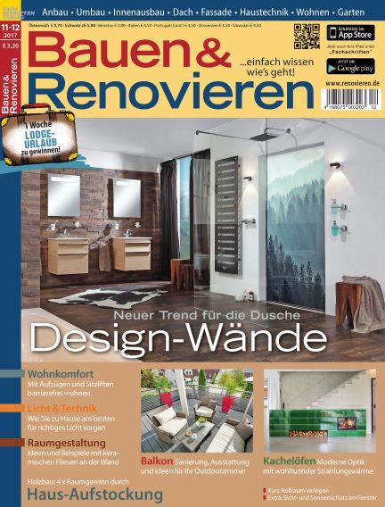 Bauen & Renovieren October 21, 2017 00:00