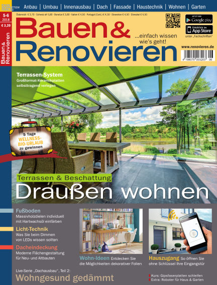 Bauen & Renovieren April 21, 2018 00:00