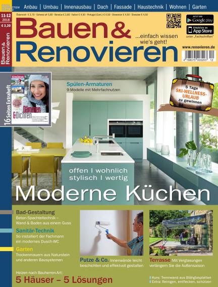 Bauen & Renovieren October 20, 2018 00:00