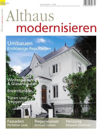 Althaus modernisieren May 20, 2017 00:00