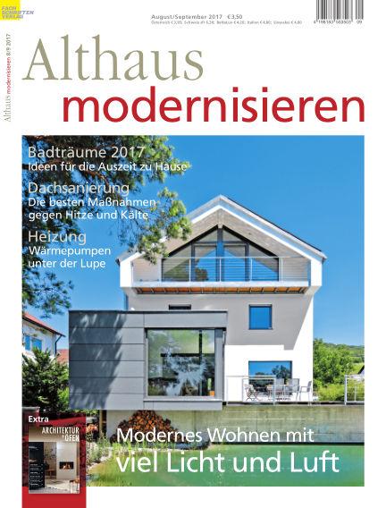 Althaus modernisieren July 29, 2017 00:00