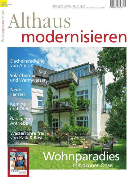 Althaus modernisieren September 16, 2017 00:00