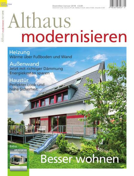 Althaus modernisieren November 18, 2017 00:00