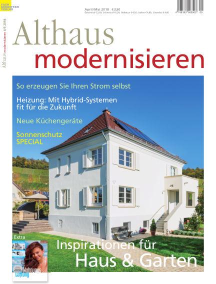 Althaus modernisieren March 24, 2018 00:00