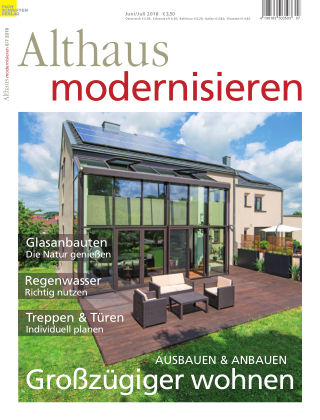 Althaus modernisieren 6/7-18
