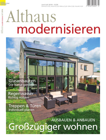 Althaus modernisieren May 19, 2018 00:00