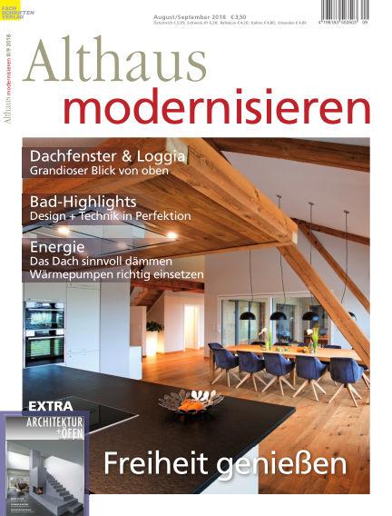 Althaus modernisieren July 21, 2018 00:00
