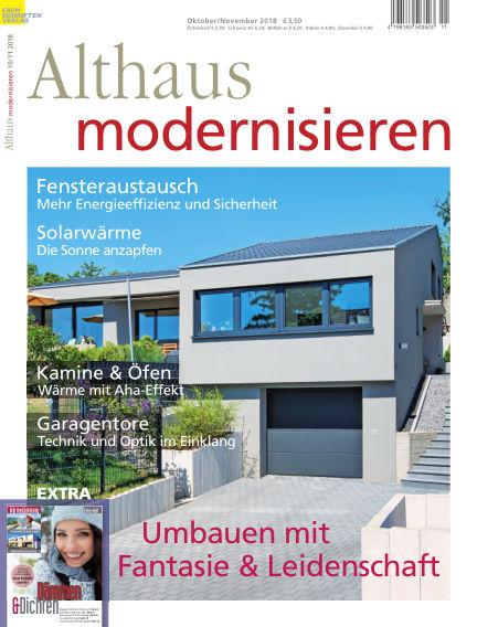 Althaus modernisieren September 22, 2018 00:00