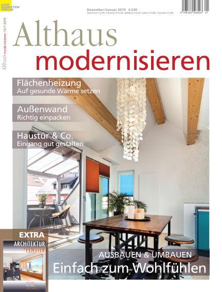 Althaus modernisieren November 24, 2018 00:00