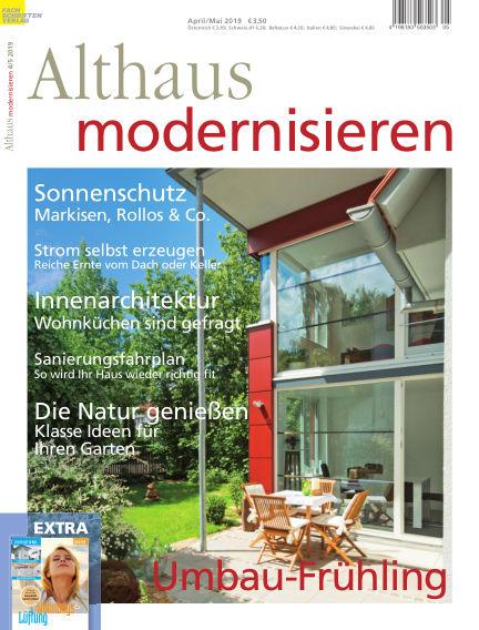 Althaus modernisieren March 26, 2019 00:00