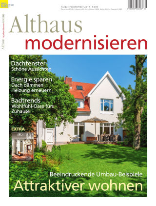 Althaus modernisieren 8/9-2019