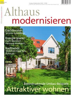 Althaus modernisieren 8/9-2019