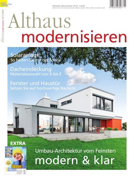 Althaus modernisieren September 21, 2019 00:00