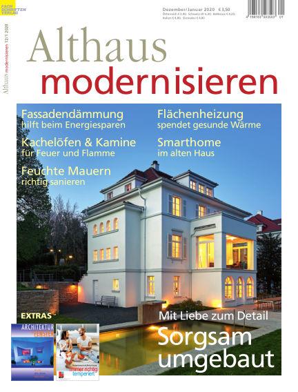 Althaus modernisieren November 23, 2019 00:00
