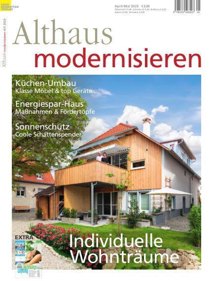 Althaus modernisieren March 21, 2020 00:00