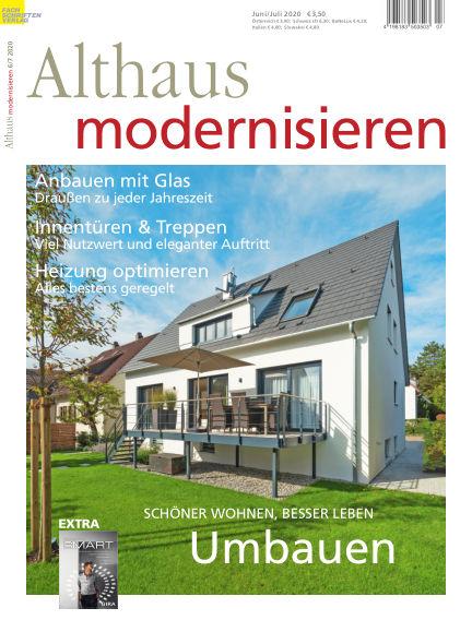 Althaus modernisieren May 16, 2020 00:00