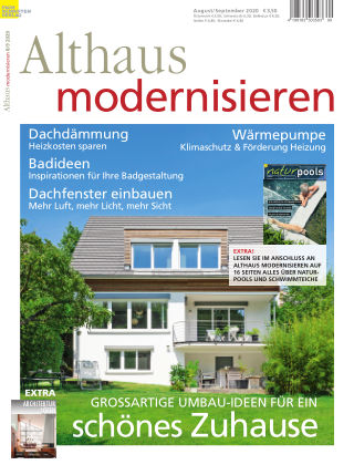 Althaus modernisieren 8/9-2020