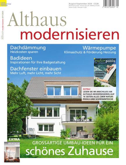 Althaus modernisieren July 18, 2020 00:00