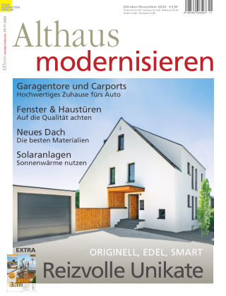 Althaus modernisieren 10/11-2020