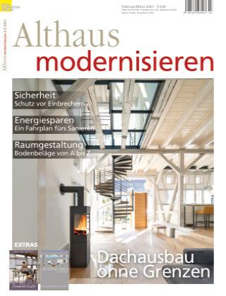 Althaus modernisieren 2/3-2021