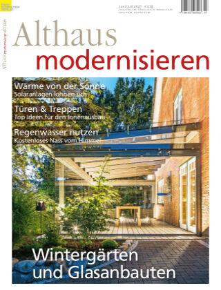 Althaus modernisieren 6/7-2021