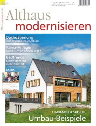 Althaus modernisieren 8/9-2021