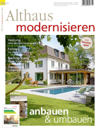 Althaus modernisieren 10/11-2021