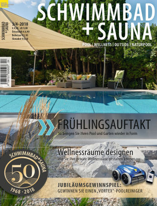 Schwimmbad + Sauna 3/4-2018