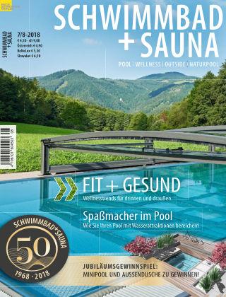 Schwimmbad + Sauna 7/8-2018