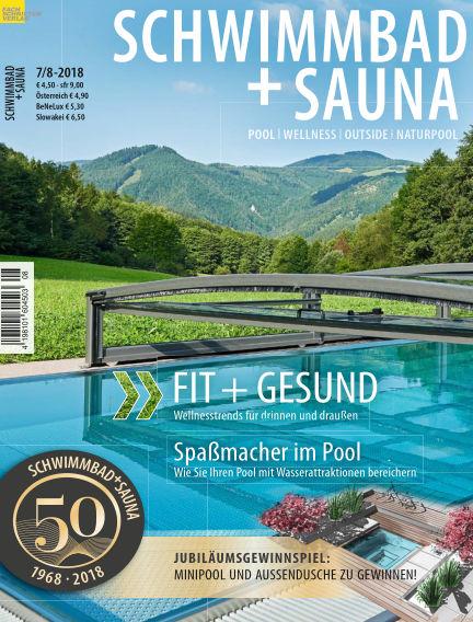 Schwimmbad + Sauna June 23, 2018 00:00