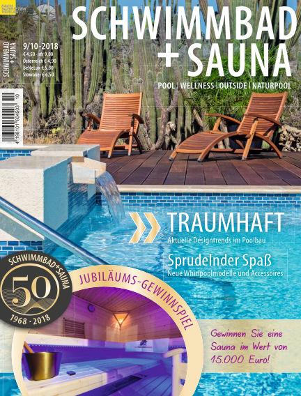Schwimmbad + Sauna August 25, 2018 00:00