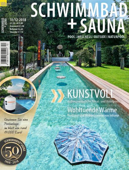 Schwimmbad + Sauna October 20, 2018 00:00