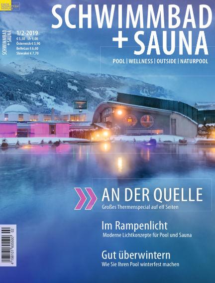 Schwimmbad + Sauna December 22, 2018 00:00