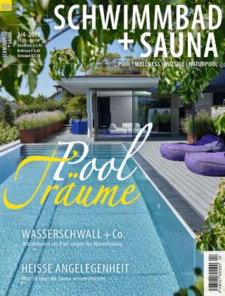 Schwimmbad + Sauna 3/4-2019