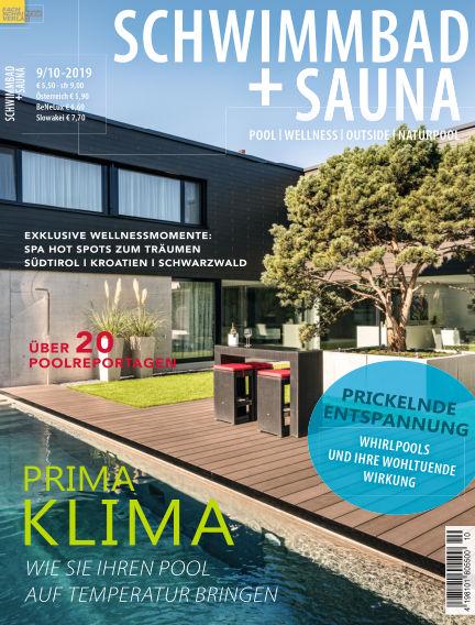 Schwimmbad + Sauna August 24, 2019 00:00