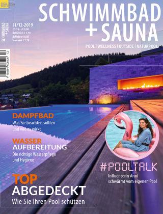 Schwimmbad + Sauna 11/12-2019