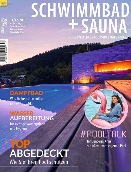 Schwimmbad + Sauna October 26, 2019 00:00