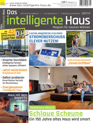 Das intelligente Haus 1/2019