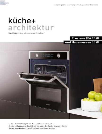 küche+architektur August 29, 2018 00:00