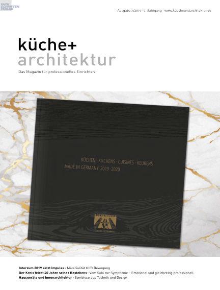küche+architektur July 04, 2019 00:00