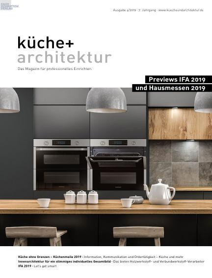 küche+architektur August 23, 2019 00:00