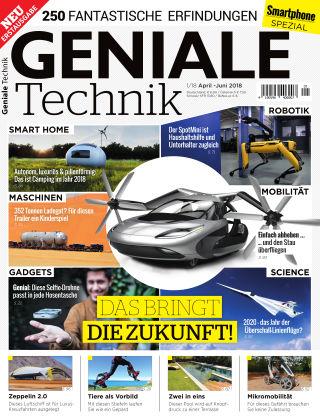 Smartphone Magazin Extra Geniale Technik 1/18