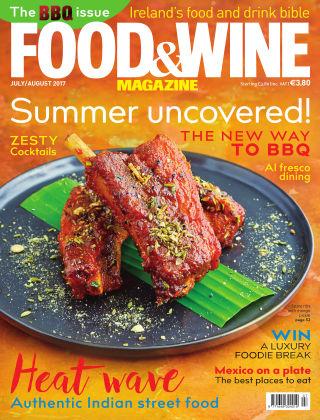 FOOD&WINE Magazine July/Aug Issue