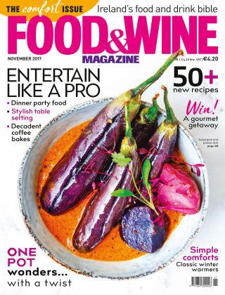 FOOD&WINE Magazine November Issue