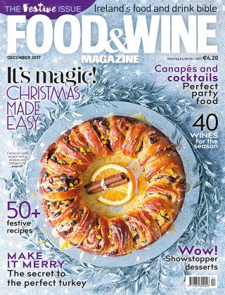 FOOD&WINE Magazine December Issue