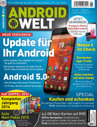 AndroidWelt 01/15
