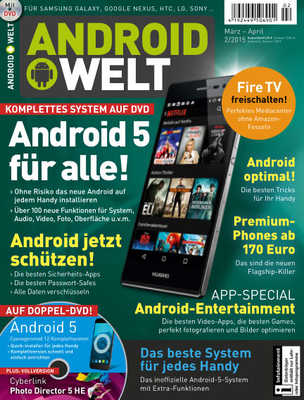 AndroidWelt February 06, 2015 00:00
