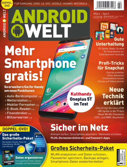 AndroidWelt February 02, 2018 00:00