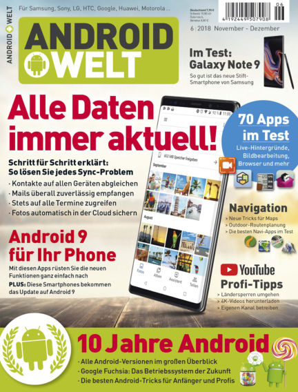 AndroidWelt October 05, 2018 00:00